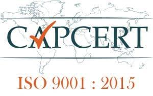 LOGO CAPCERT ISO 9001